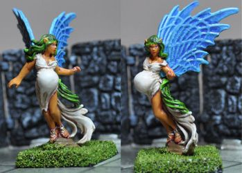 Pregnant Pixie by A-Fraser