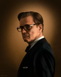 Kingsman: Harry Hart by Spiritius