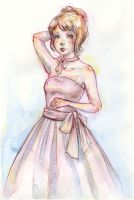 Sketch - Ball Gown by Ninelyn