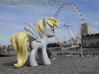 Derpy Hooves and The London Eye by Jacko247