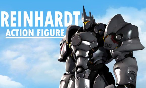 Reinhardt Action Figure [ANIMATION] by Camcooney