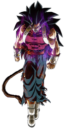 Dragon Ball Heroes Kanba without the Jacket by Abyss1