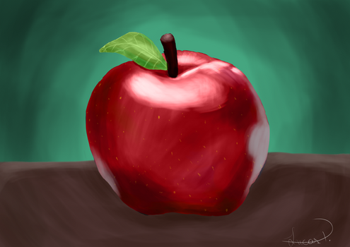 Apple by Luc-Frost