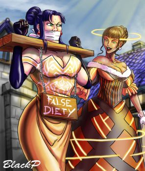 Tiranna the Heretic by BlackProf