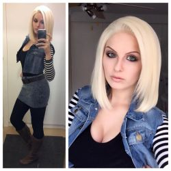 Android 18 - Dragon Ball Z by Kinpatsu-Cosplay