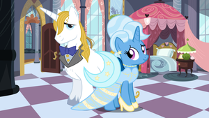 The Royal Couple in the Royal Bedroom by 3D4D