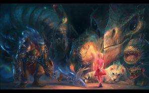 Don't be afraid, monsters by MartaNael