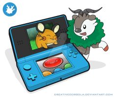 3DS Pokemon x and y by CreativeCorsola