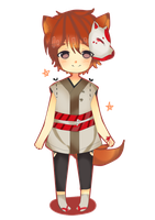 Fox-kun [C] by namiirin