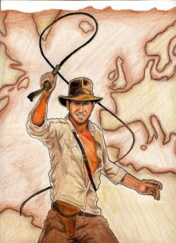 Indiana Jones by PhEnOm1980