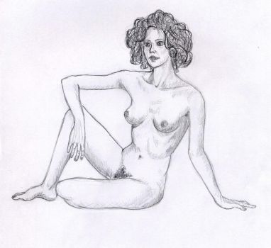 Nude woman 2 by Moldave