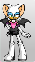 Rouge The Bat! by iceburgdeadahead