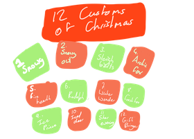 12 Customs of Christmas by DragonMiner101