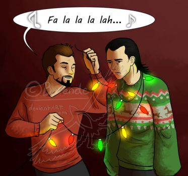 Holiday Spirit by Berende