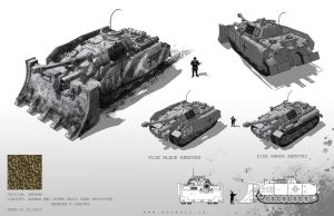 German Tank Prototype by MackSztaba