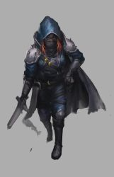 Halfling Rogue by jeffchendesigns