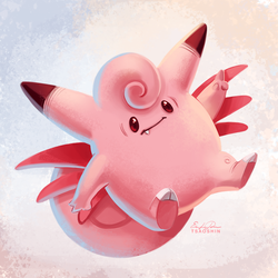 036 - Clefable by TsaoShin