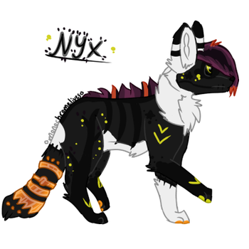 Nyx // CS Commission by monochromelives