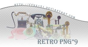 Retro png pack #05 by yynx151