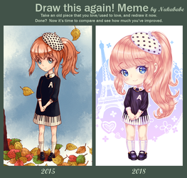[+Video] Draw This Again! Meme by Nukababe by Nukababe
