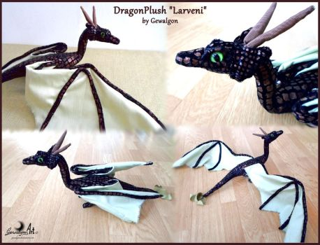 Dragon Plush - Larveni by Gewalgon