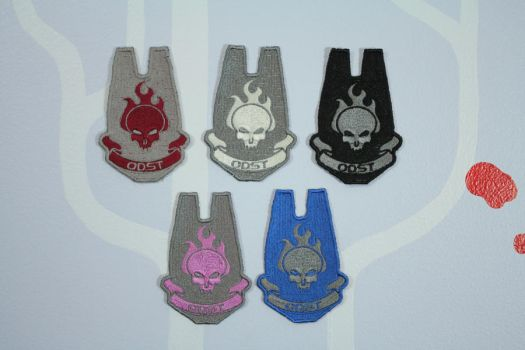 Halo ODST Patches by tommyfilth