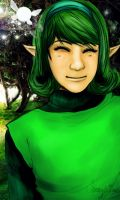 The Legend of Zelda - Saria by shamylicious