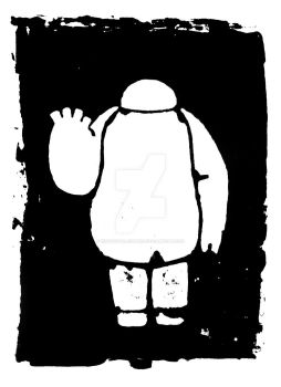 Hello, I Am Baymax - Original Screenprint