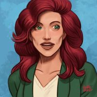 Daily Sketches Lois Lane by fedde