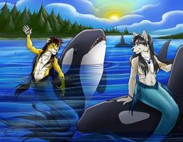 YCH Orca Bay Final Colors by Ralloonx by lady-cybercat