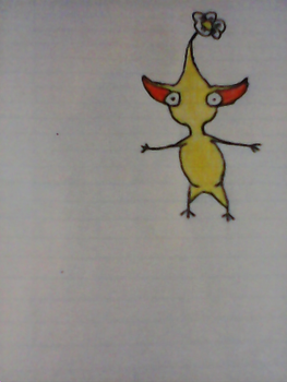 Yellow Pikmin by awesomeFinn746