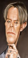 DAVID BOWIE by JaumeCullell
