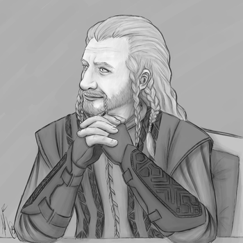 Son of Durin : Fili by KatChan00