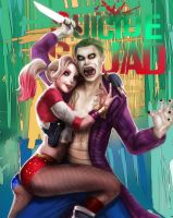 Suicide Squad: Joker and Harley by YETI000