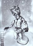 Furry Style (Drawing Practice) by melani2002