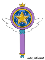 Star Butterfly's magic wand by wild-cobragirl
