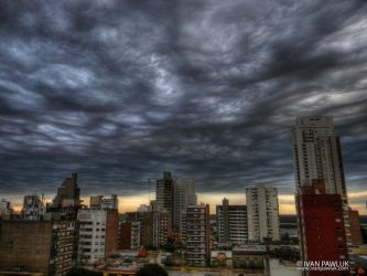 Storm in Rosario by ipawluk