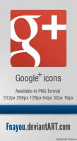 Google Plus Icon by Fnayou