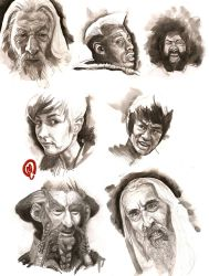 Portrait studies by Changinghand