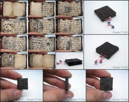 Eyes and Skin Miniature Book by Maylar