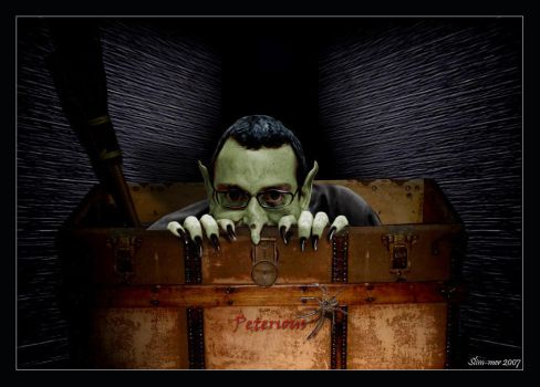 Peterious.. Back to your box by slim-mer