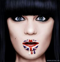 Jessie J - Digital painting by StephanieVALENTIN