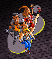 Streets of Rage - It's Fun to Hurt People by gsilverfish