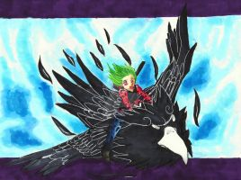 Point Commission: Shilo Soaring in the Sky by MimiSephora