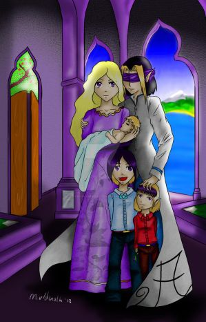 The first family of Myzailia by YaminaYugineAtema