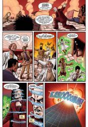 FREELANCERS Issue #3 page 3 by CasalLettering
