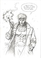 Gambit Commission by FlowComa