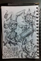 Popee the performer sketch by jkw8888