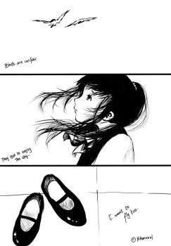 The Girl who wanted to fly by Hikarisoul2