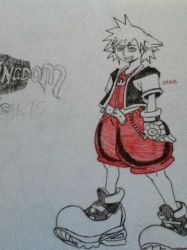 sora the keyblade wielder by khlover-san